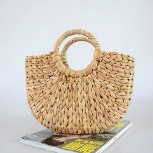 L'Occtane Summer Straw Tote